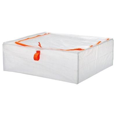 PÄRKLA Kovček za shranjevanje, 55x49x19 cm