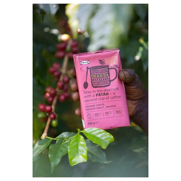 PÅTÅR Filter kava, srednje pražena, Uganda/100% zrna Arabica/UTZ-certificirano/ekološko
