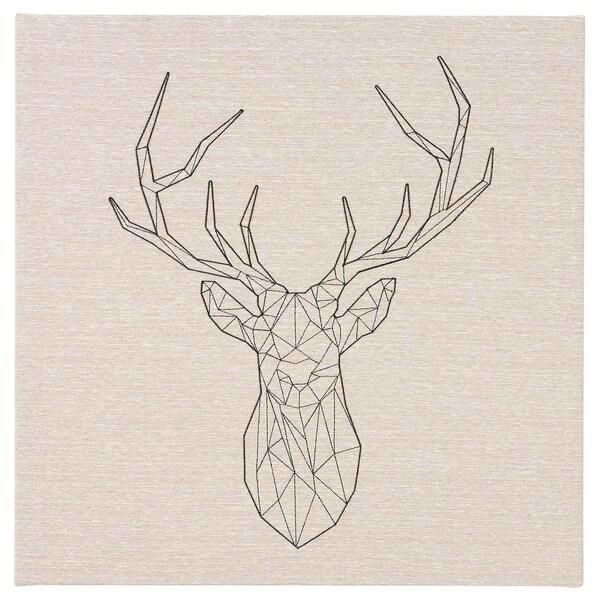 PJÄTTERYD Slika, Črn jelen, 56x56 cm
