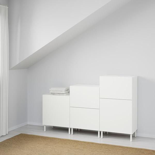 PLATSA Omarica, bela/Fonnes bela, 180x42x113 cm