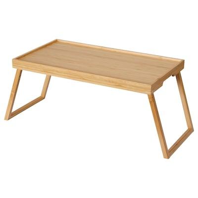 RESGODS Posteljna mizica, bambus