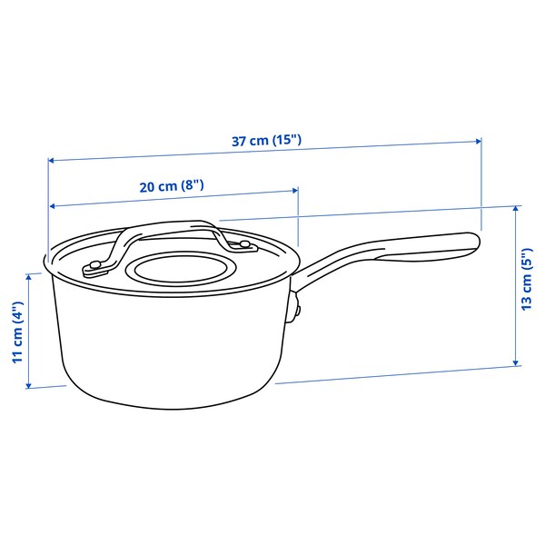 SENSUELL Kozica s pokrovom, nerjaveče jeklo/siva, 2.4 l