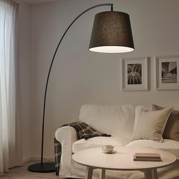 SKOTTORP Senčnik za svetilko, siva, 42 cm