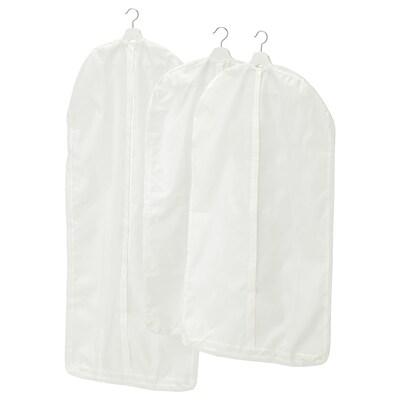 SKUBB Vreča za oblačila, 3 kosi, bela