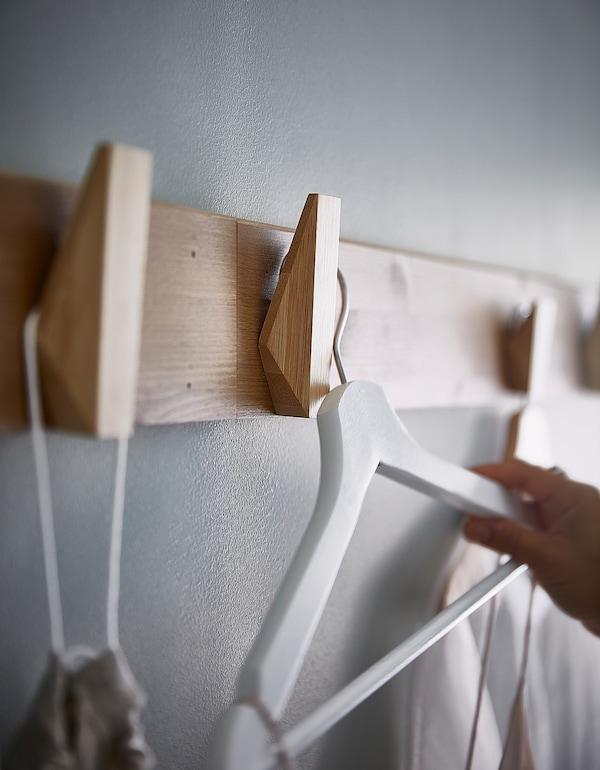 SKUGGIS Kljuka, bambus, 6.4x11 cm