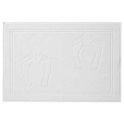 SKULINGEN Kopalniška preproga, bela, 50x70 cm