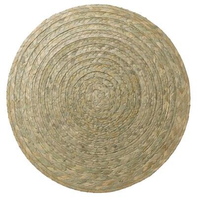 SLUTEN Pogrinjek, palmovi listi/zelena, 37 cm