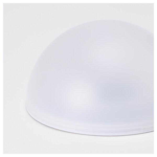 SOLVINDEN LED solarna svetilka, zunanje/polkrogla bela