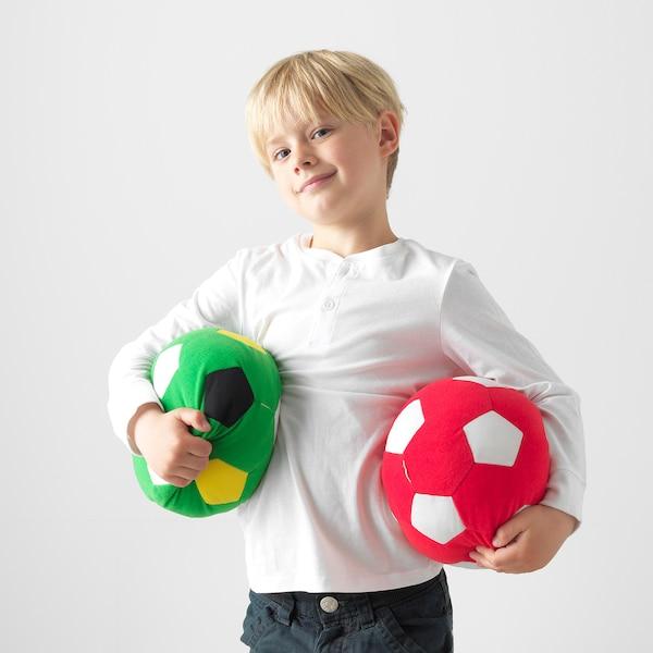 SPARKA Plišasta igrača, nogometna žoga/zelena