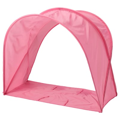 SUFFLETT Posteljni šotor, roza, 70/80/90