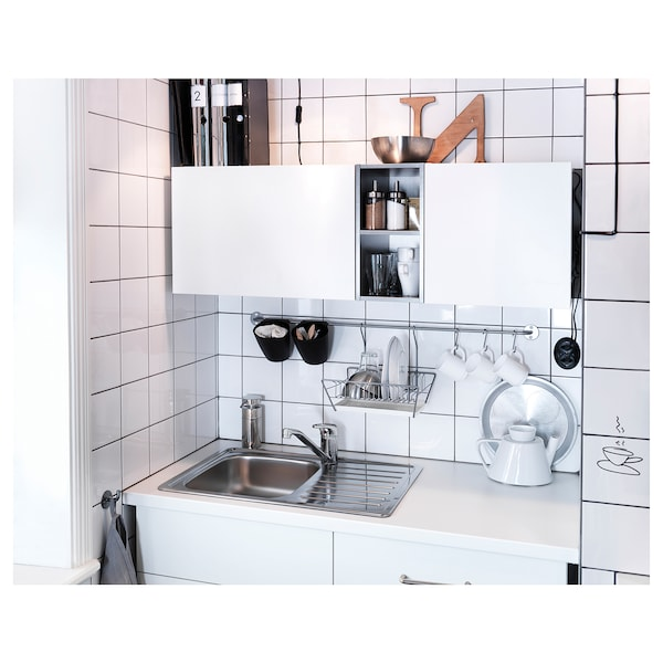 SUNDSVIK Enoročna kuhinjska mešalna armatura, kromirano