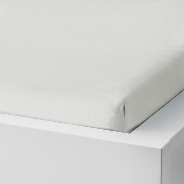 TAGGVALLMO Napenjalna rjuha, bela, 90x200 cm
