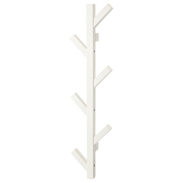 TJUSIG Obešalnik, bela, 78 cm