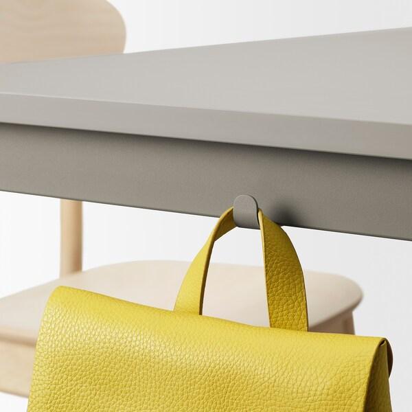 TOMMARYD Miza, svetlo siva, 130x70 cm