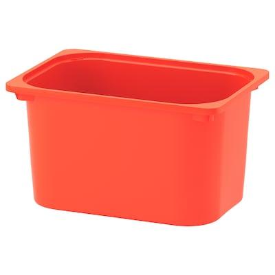 TROFAST Zaboj za shranjevanje, oranžna, 42x30x23 cm