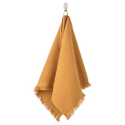 VALLASÅN Brisača za roke, temno rumena, 50x100 cm