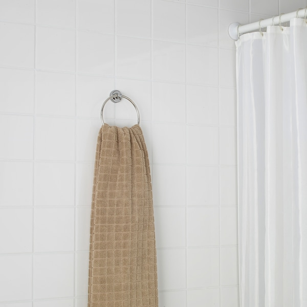 VOXNAN Obešalnik za brisače, imitacija kromirane površine