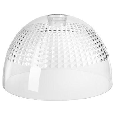 ACKLINGA tienidlo na závesnú lampu priehľadná/štvorčekový povrch 38 cm 38 cm 24 cm 38 cm