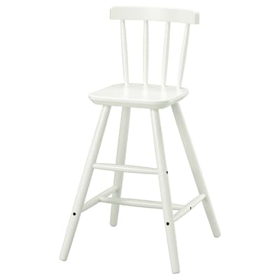 AGAM Detská vysoká stolička, biela