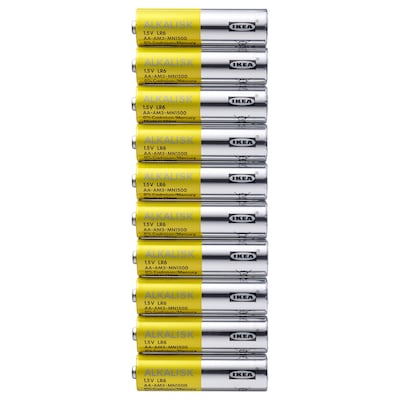 ALKALISK alkalická batéria 10 ks