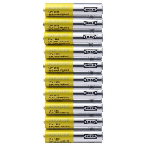 IKEA ALKALISK Alkalická batéria