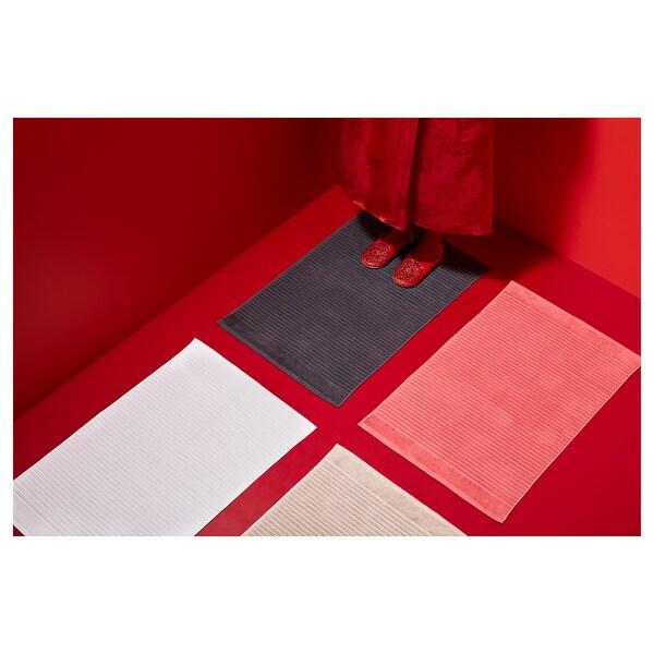 ALSTERN kúpeľňová predložka biela 900 g/m² 80 cm 50 cm 0.40 m²