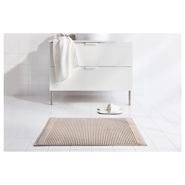 ALSTERN Kúpeľňová predložka, béžová, 50x80 cm