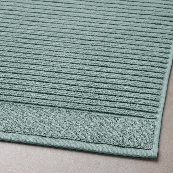 ALSTERN Kúpeľňová predložka, svetlá sivo-zelená, 50x80 cm