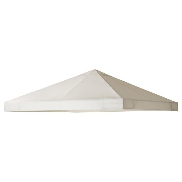 AMMERÖ baldachýn do altánku béžová 300 cm 300 cm