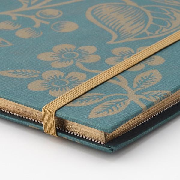ANILINARE zápisník zelená/zlatá 70 kusov 20.0 cm 16.0 cm 1.2 cm 80 g/m²