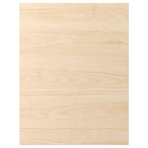 ASKERSUND krycí panel vzor svetl jaseňa 61.5 cm 80 cm 62 cm 80.0 cm 1.3 cm