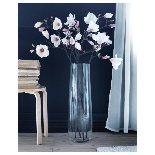 BERÄKNA Váza, číre sklo, 65 cm