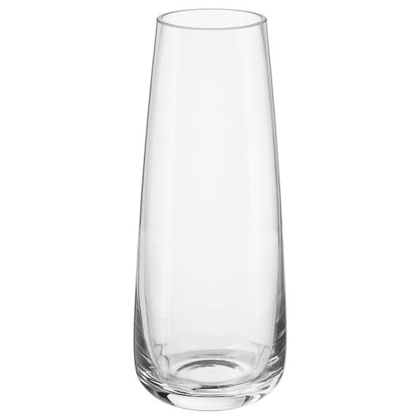 BERÄKNA Váza, číre sklo, 15 cm