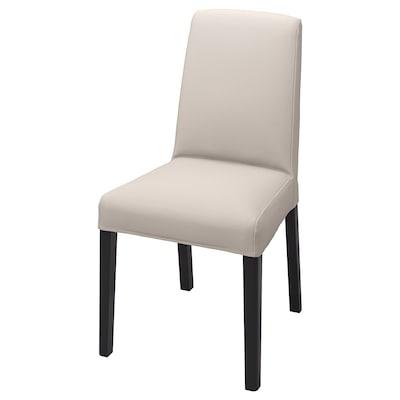 BERGMUND Poťah na stoličku, Hallarp béžová