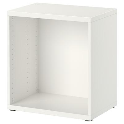 BESTÅ Rám, biela, 60x40x64 cm