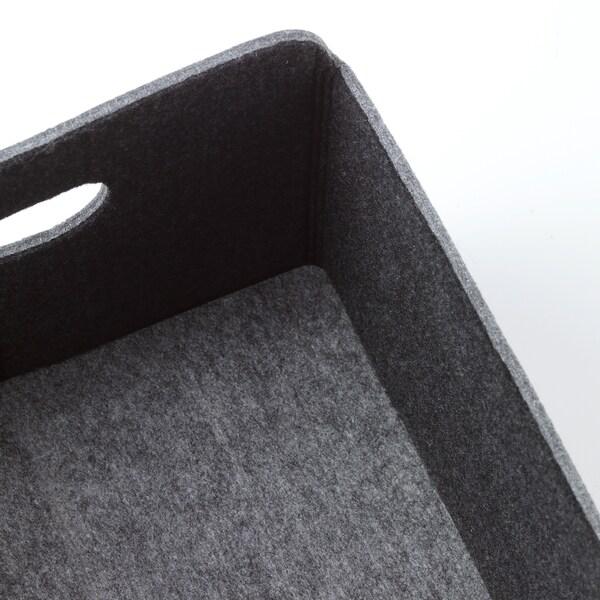 BESTÅ Škatuľa, sivá, 25x31x15 cm