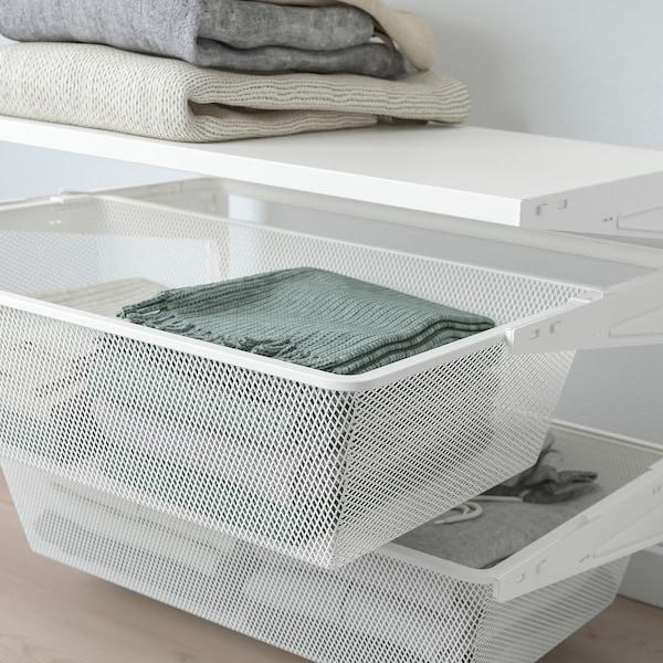 BOAXEL 1 sekcia, biela, 62x40x201 cm