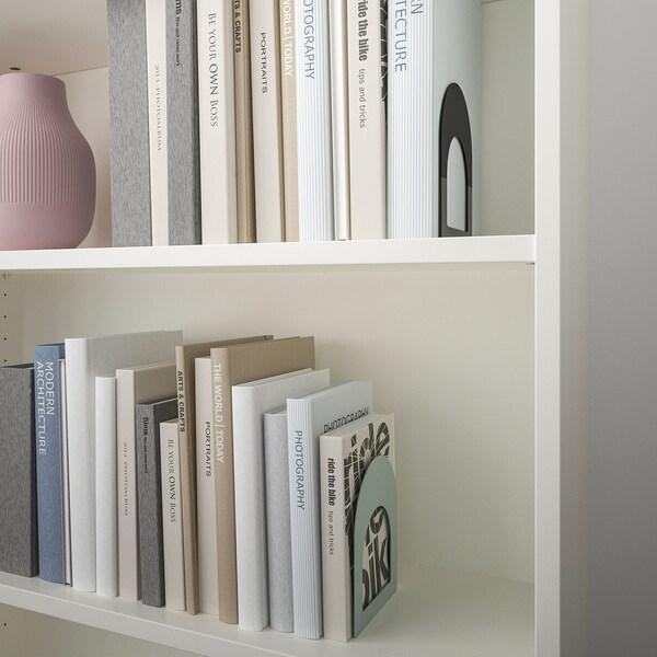 BOTTNA Držiak na knihy, svetlá sivo-zelená/antracit