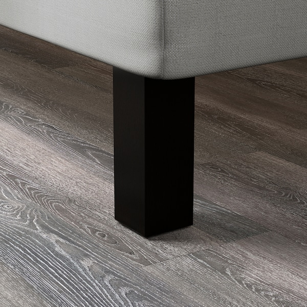 BRENNÅSEN Noha, čierne morené, 20 cm