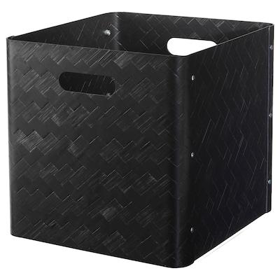 BULLIG škatuľa čierna 32 cm 35 cm 33 cm