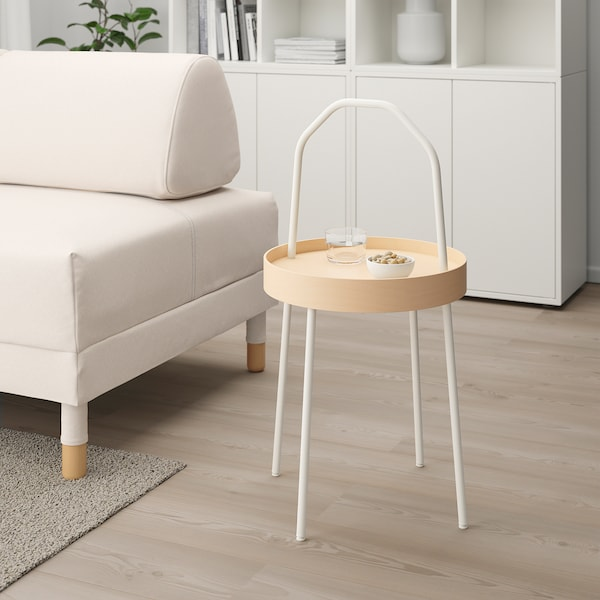 BURVIK konferenčný stolík biela 78 cm 45 cm 38 cm