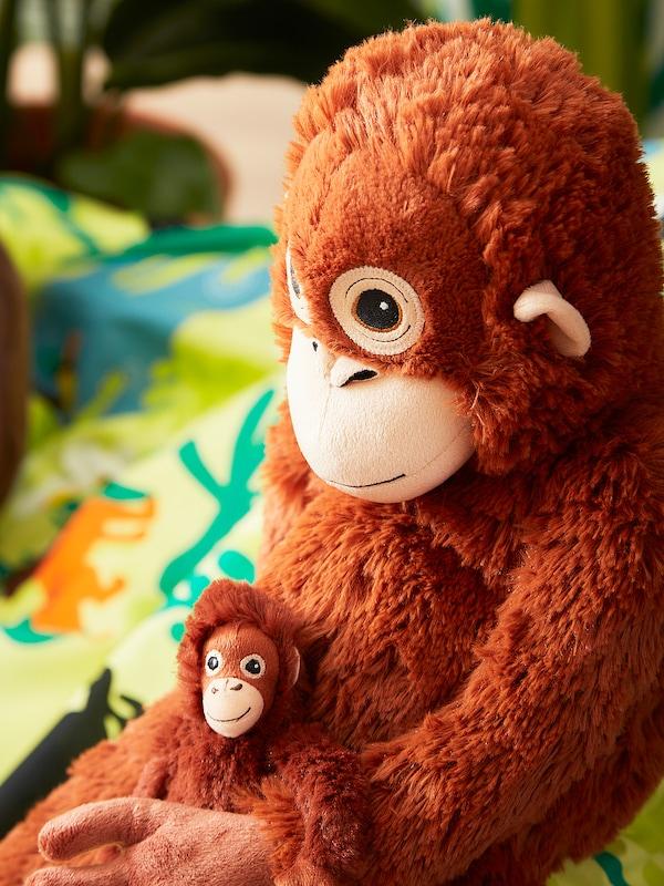 DJUNGELSKOG Plyšová hračka, orangutan
