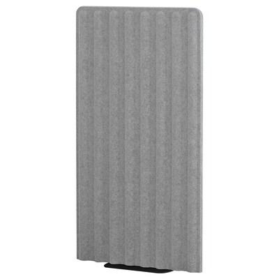 EILIF Predeľovací panel, voľne stojaci, sivá/čierna, 80x150 cm
