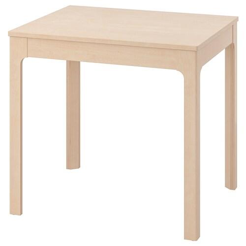 EKEDALEN rozkladací stôl breza 80 cm 120 cm 70 cm 75 cm