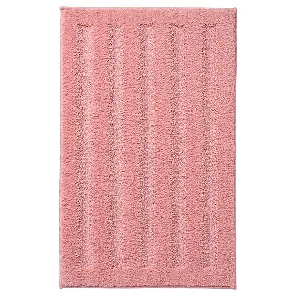 EMTEN Kúpeľňová predložka, svetloružová, 50x80 cm