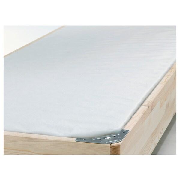 ENGAVÅGEN Pružinové jadro, ľan, 90x200 cm