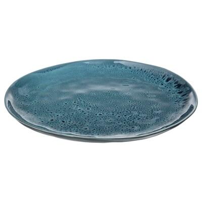 ERTAPPAD Servírovací tanier, modrá, 34 cm
