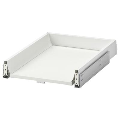 EXCEPTIONELL Zásuvka, níz, stláčací otv mech, biela, 40x60 cm