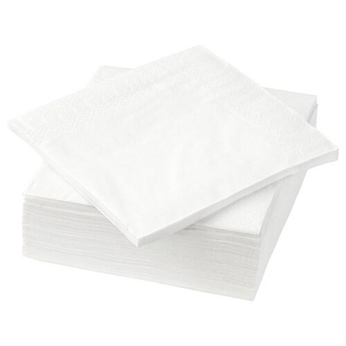 FANTASTISK papierové obrúsky biela 24 cm 24 cm 50 ks