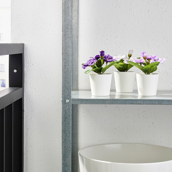 FEJKA umelá rastlina v kvetináči na von/dnu sirôtka 12 cm 6 cm 3 ks